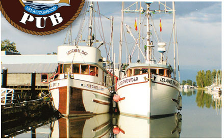 Check out a part of Canadian history with a boat from the Gumboot Navy